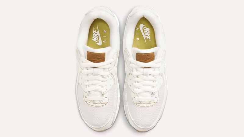 Nike Air Max 90 Sail Gum Brown Middle