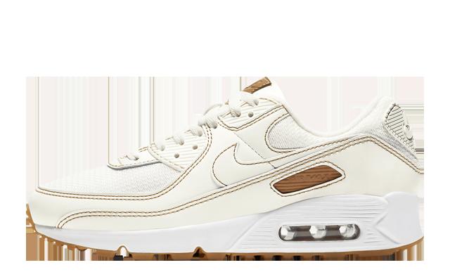 Nike Air Max 90 Sail Gum Brown