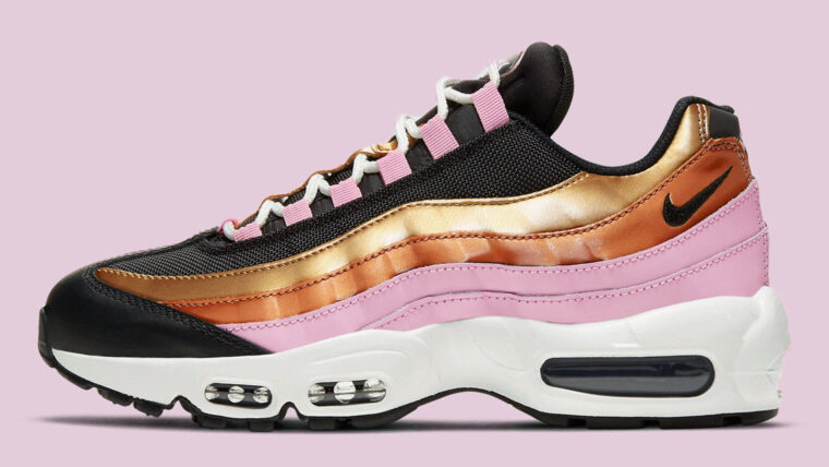 Nike Air Max 95 Gold Bronze Pink Black copy