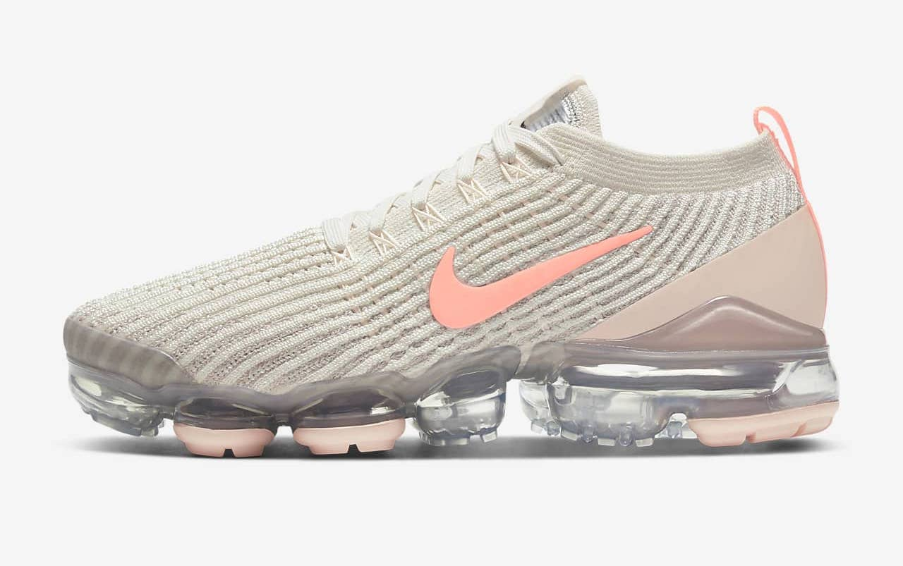 Nike Air VaporMax Flyknit 3 Bleached Coral