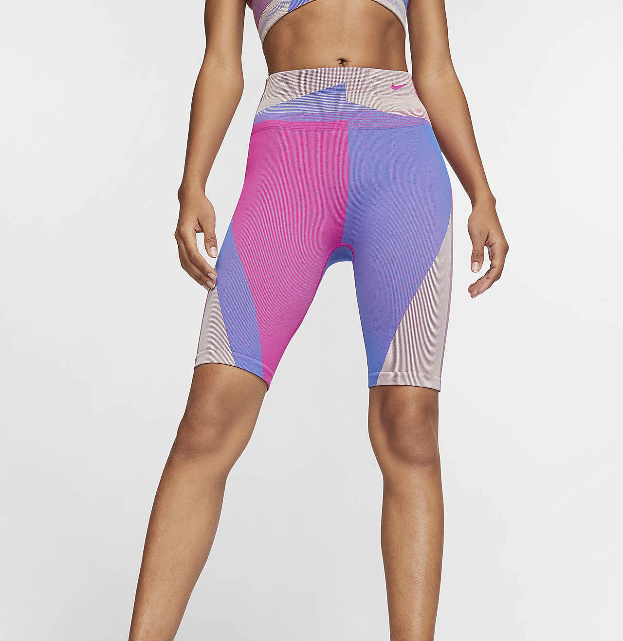Nike Icon Clash Shorts Fire Pink