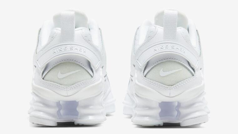 Nike Shox TL Nova Triple White Back thumbnail image