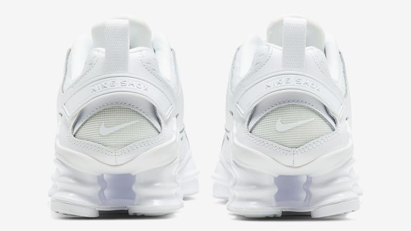 Nike Shox TL Nova Triple White Back