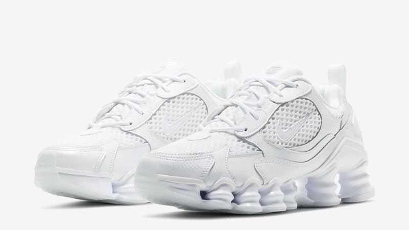 Nike Shox TL Nova Triple White Front