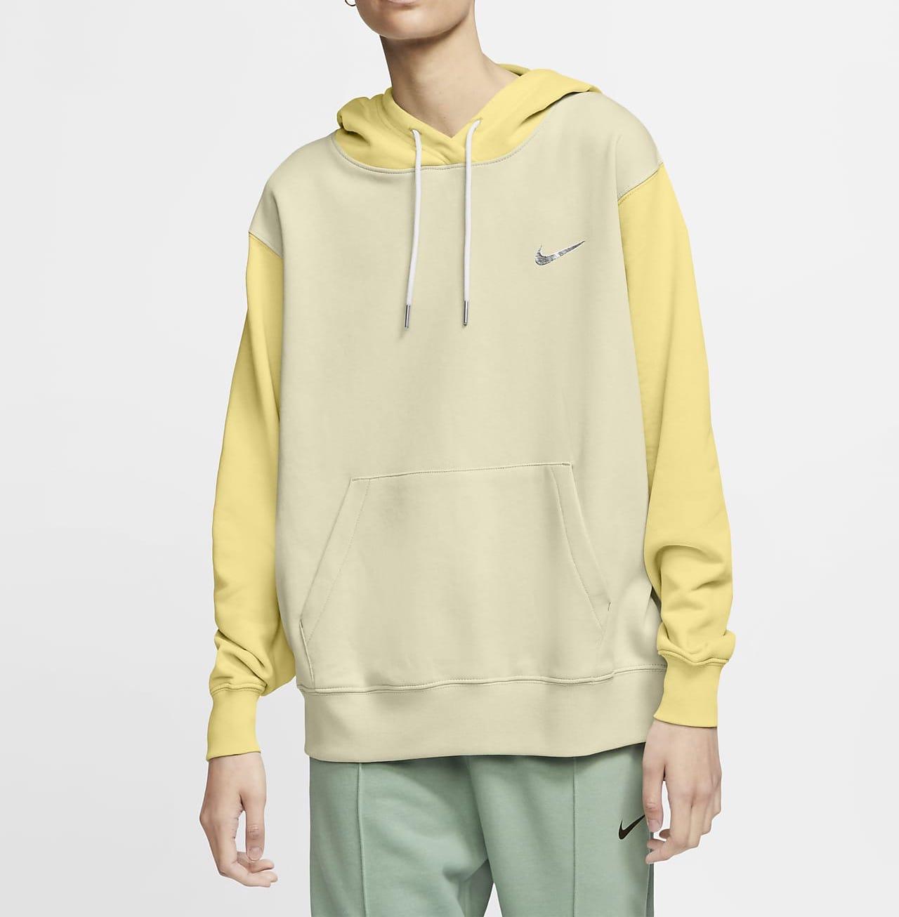 Nike Sportswear Swoosh Hoodie Yellow