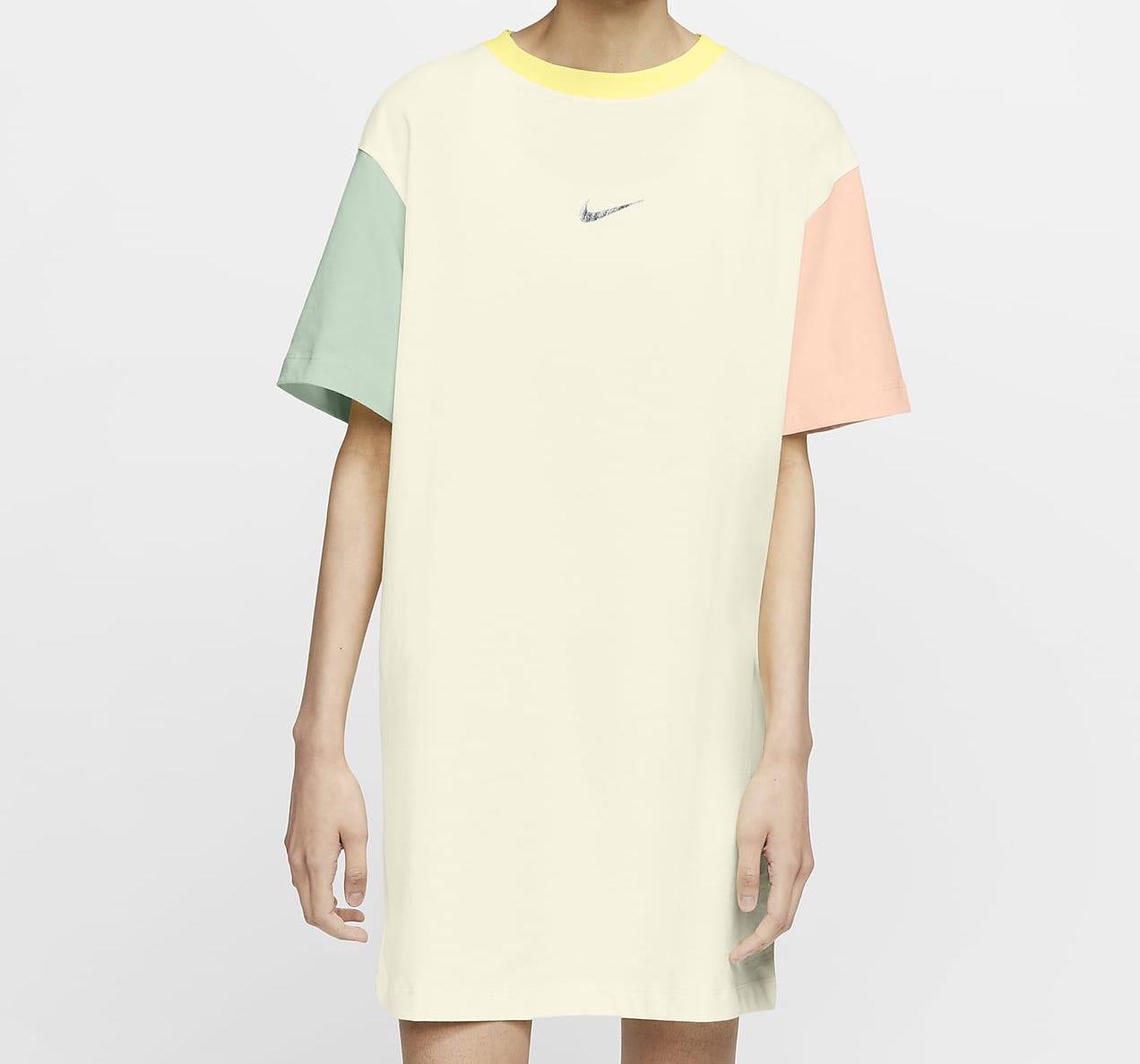 Nike Sportswear Swoosh T-Shirt Multi Pastel
