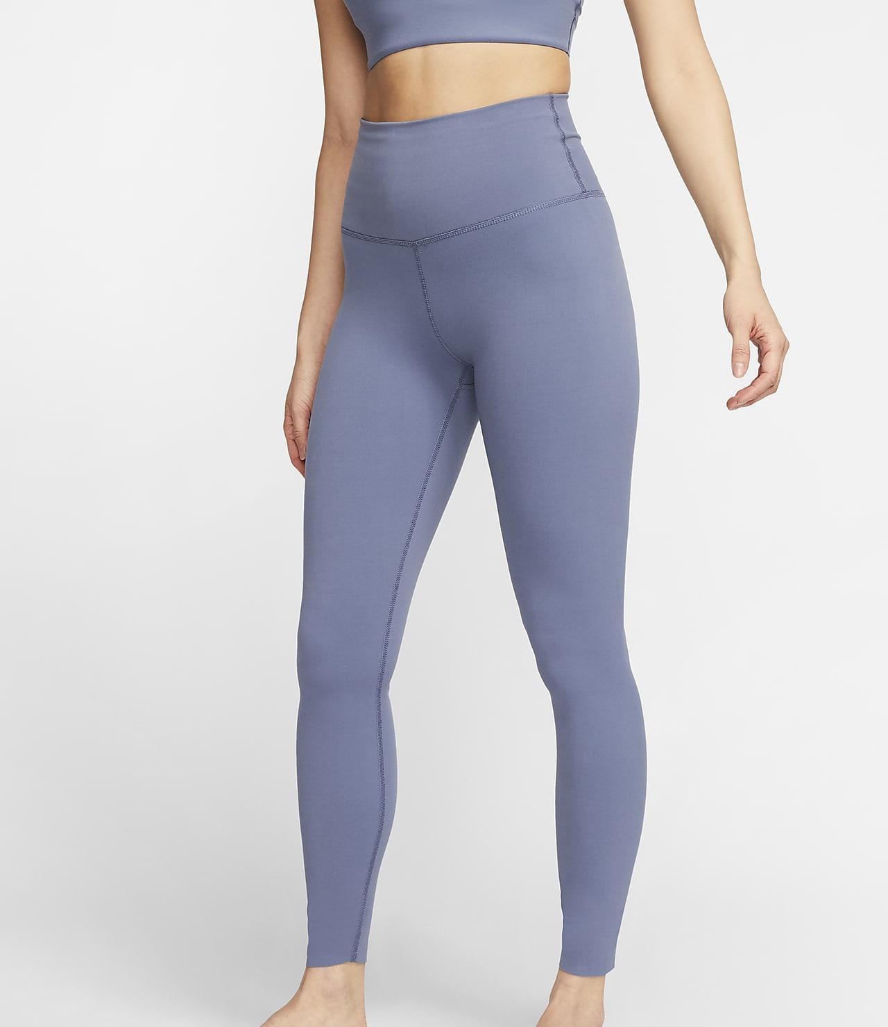 Nike Yoga Luxe Leggings Blue