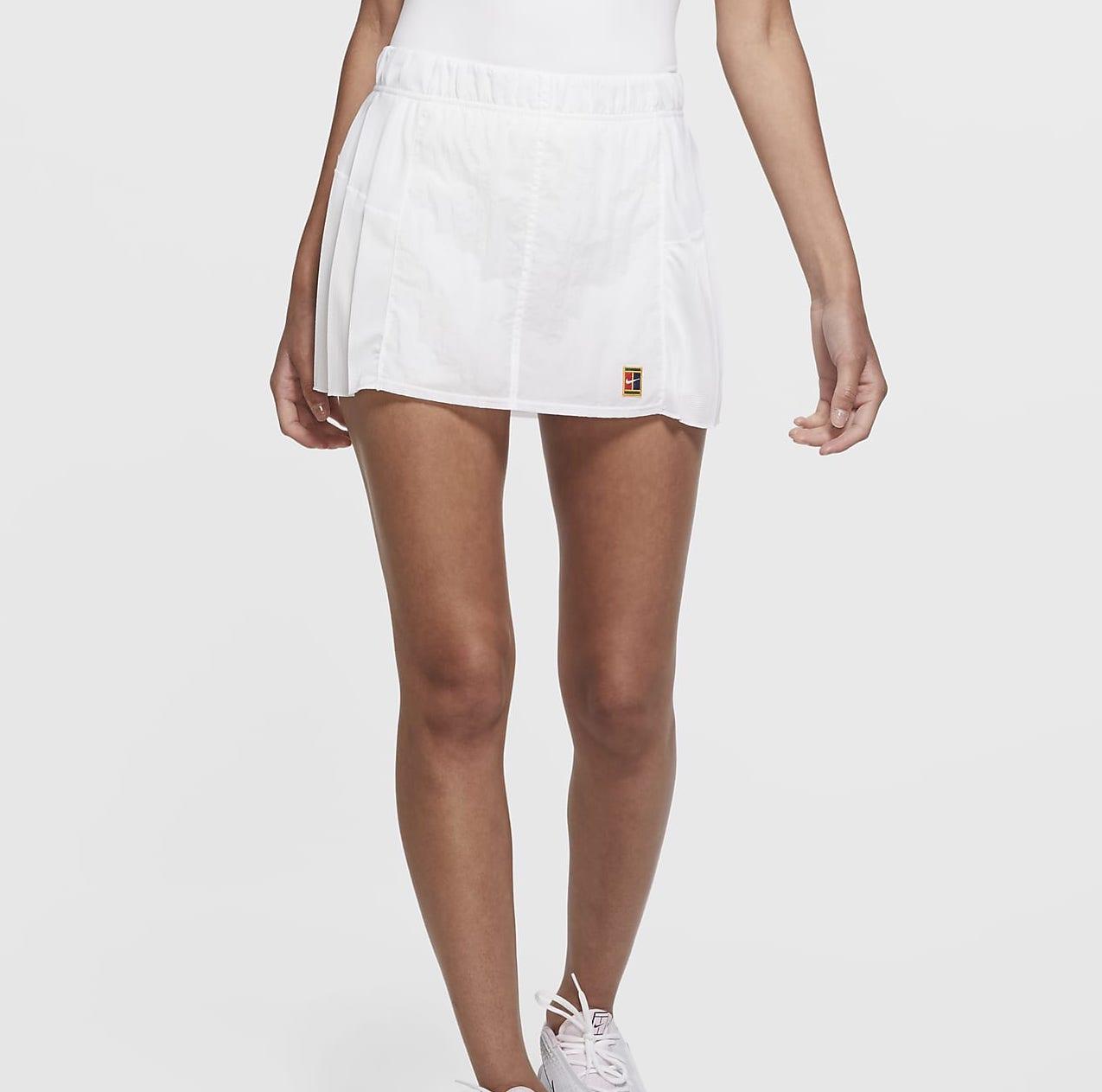 NikeCourt Slam Skirt White