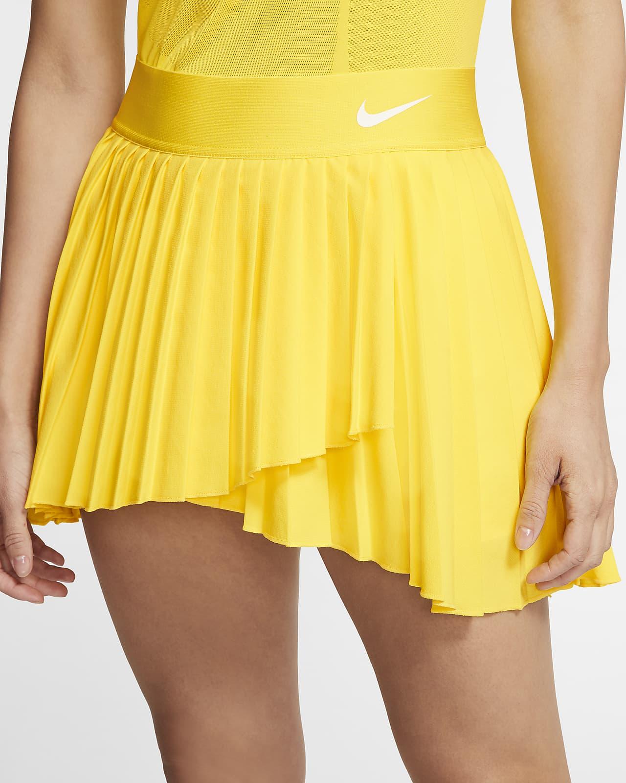 NikeCourt Victory Skirt Yellow