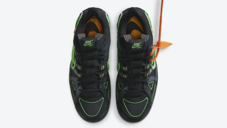 Off-White x Nike Rubber Dunk Green Strike Middle thumbnail image