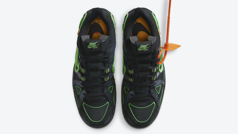 Off-White x Nike Rubber Dunk Green Strike Middle