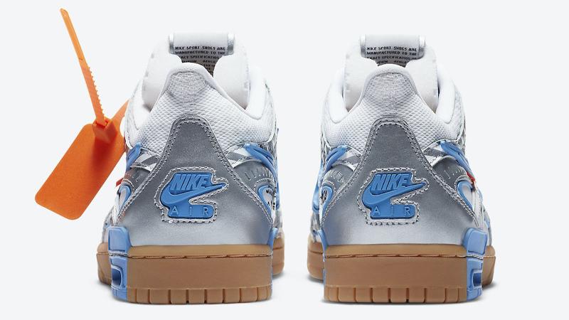 Off-White x Nike Rubber Dunk University Blue Back