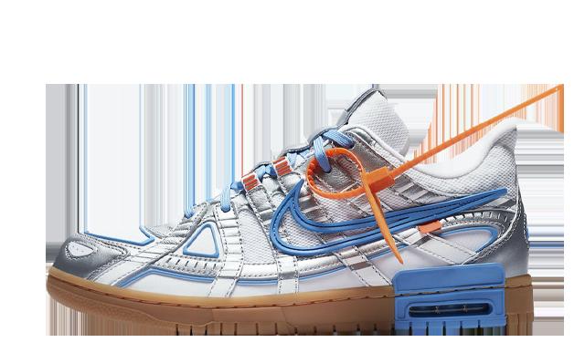 Off-White x Nike Rubber Dunk University Blue