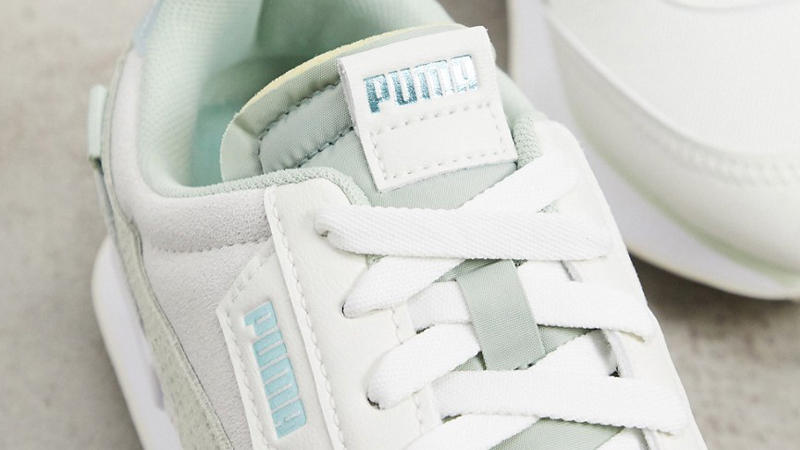 Puma Future Rider Light Green Cream Top