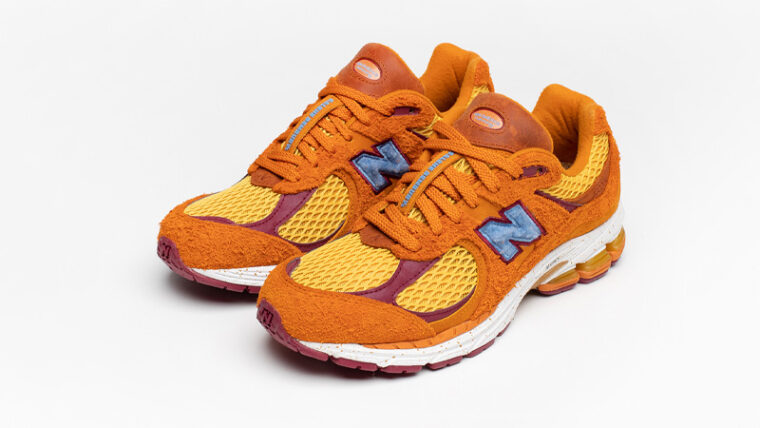 Salehe Bembury x New Balance 2002R Orange Front thumbnail image
