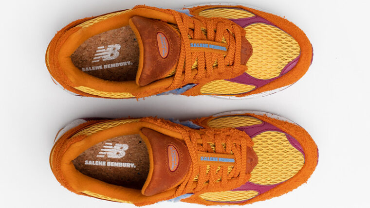 Salehe Bembury x New Balance 2002R Orange Middle thumbnail image