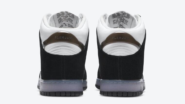 Slam Jam x Nike Dunk High Clear Black Back thumbnail image