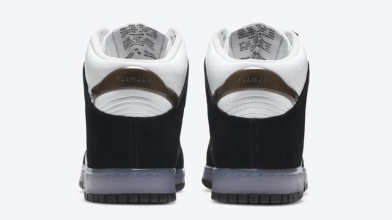Slam Jam x Nike Dunk High Clear Black Back