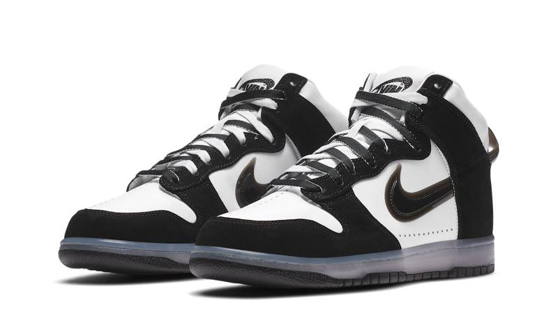 Slam Jam x Nike Dunk High Clear Black Front