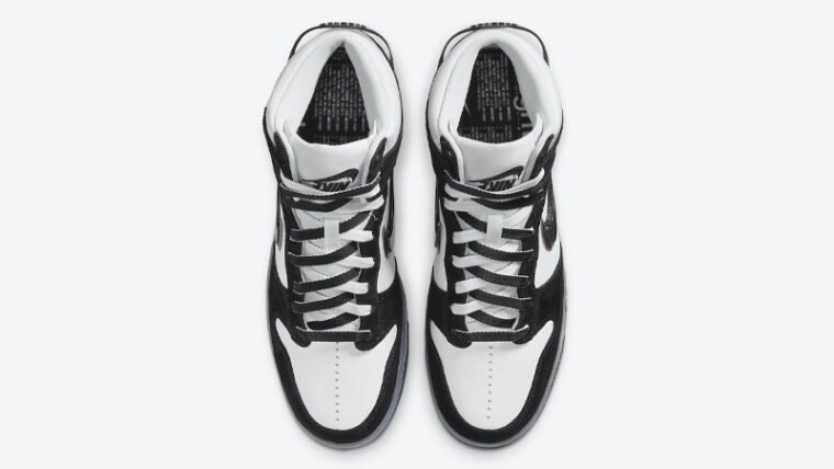 Slam Jam x Nike Dunk High Clear Black Middle thumbnail image