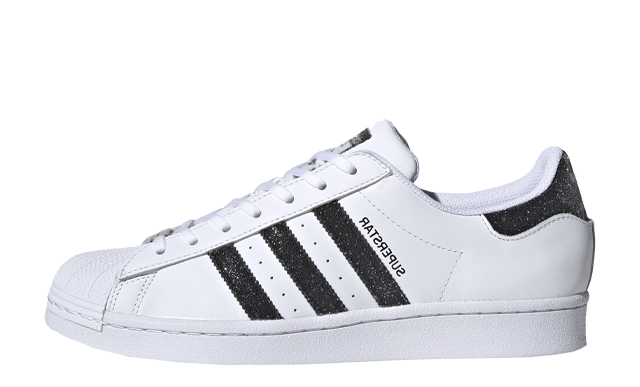 Swarovski x adidas Superstar White Black