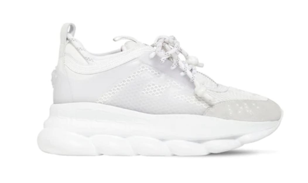 Versace Chain Reaction White