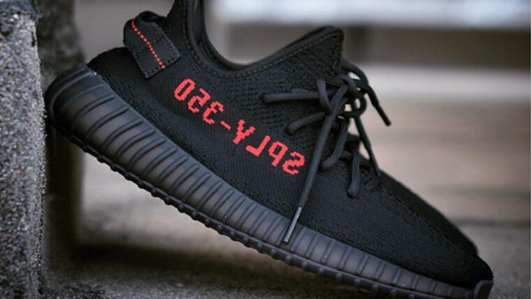 Yeezy Boost 350 V2 Bred Lifestyle thumbnail image