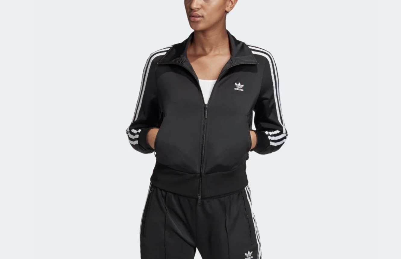 adidas Firebird Tracksuit Top Black
