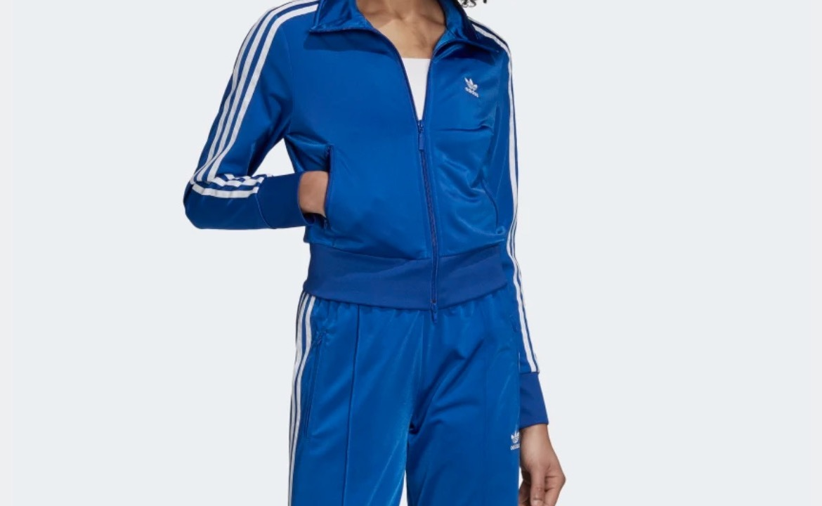 adidas Firebird Tracksuit Top Blue