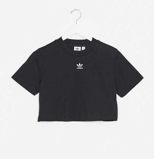 adidas Originals Black T =Shirt