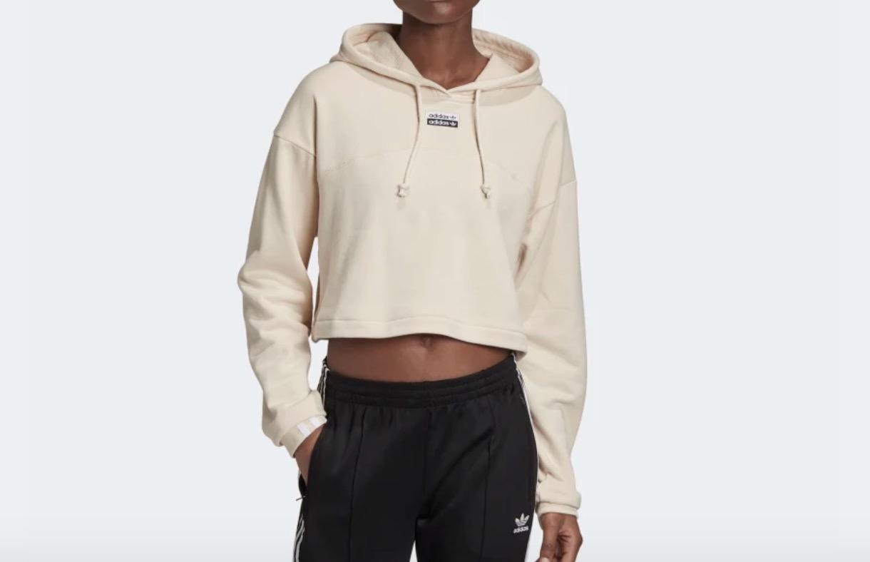 adidas R.Y.V Cropped Hoodie