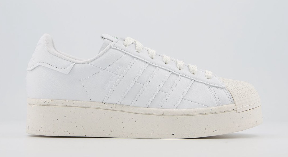 adidas Superstar Bold Clean Classics White