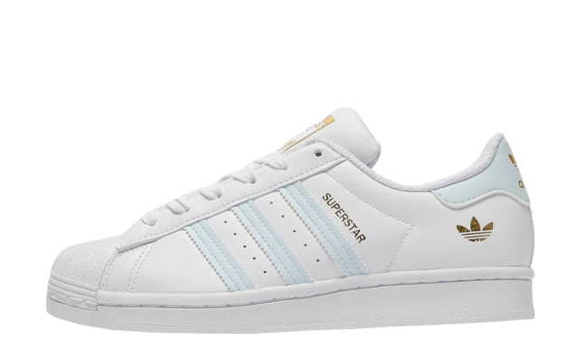 adidas Superstar Junior White Blue JD Exclusive
