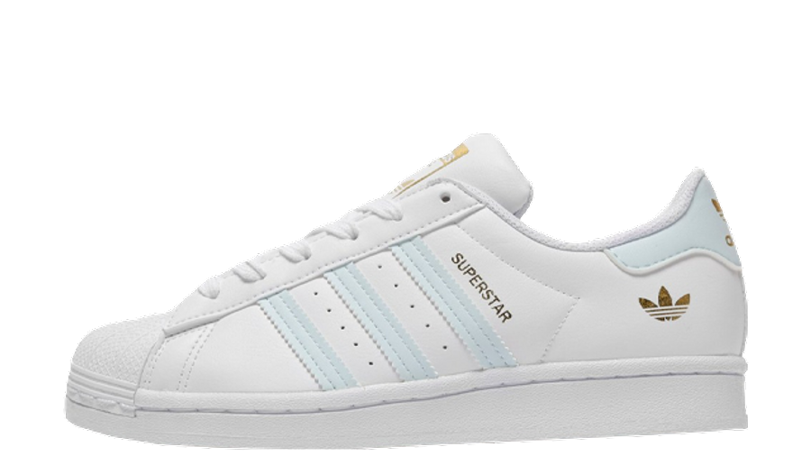 adidas Superstar Junior White Blue JD Exclusive | Where To Buy ...