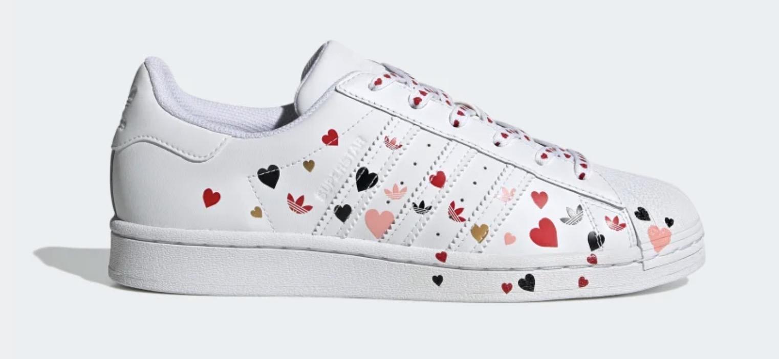 adidas Superstar White Glow Pink