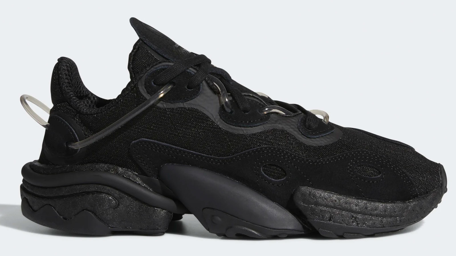 adidas black torsion X