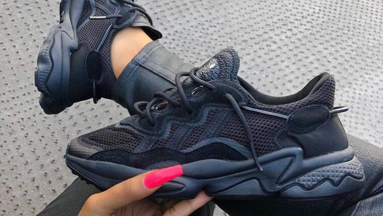 adidas ozweego black sale