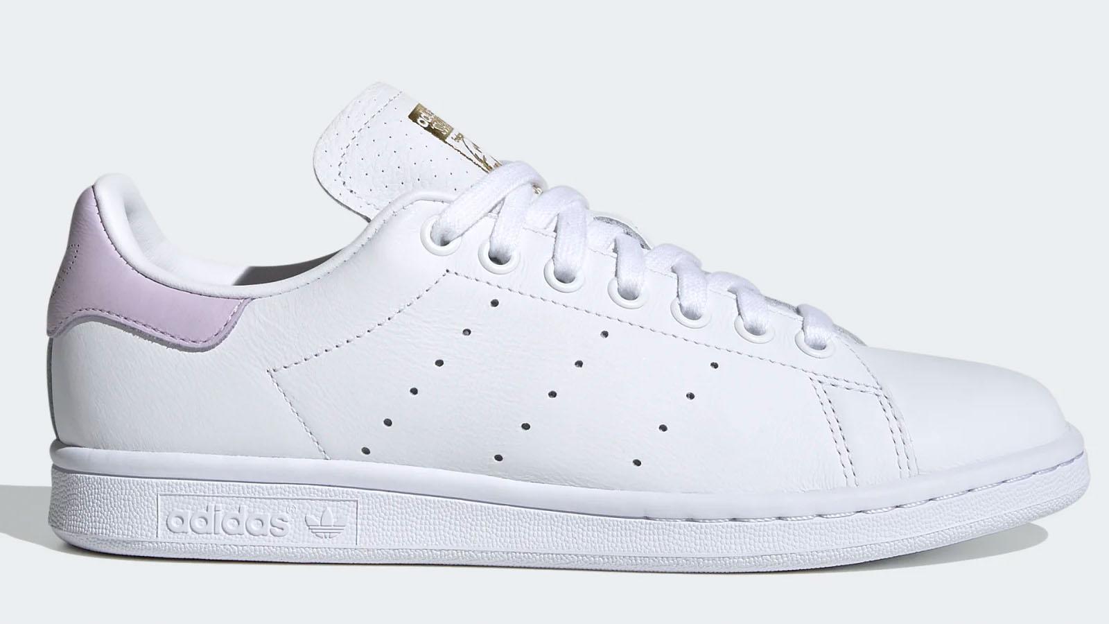 adidas pink white stan smith