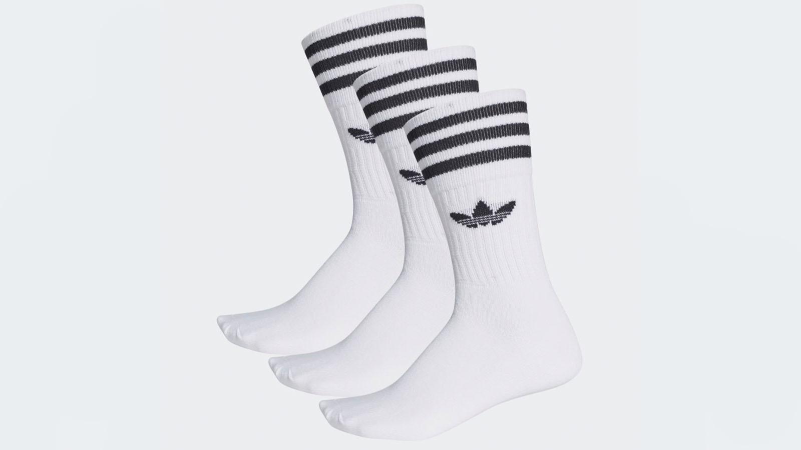 adidas trefoil logo socks