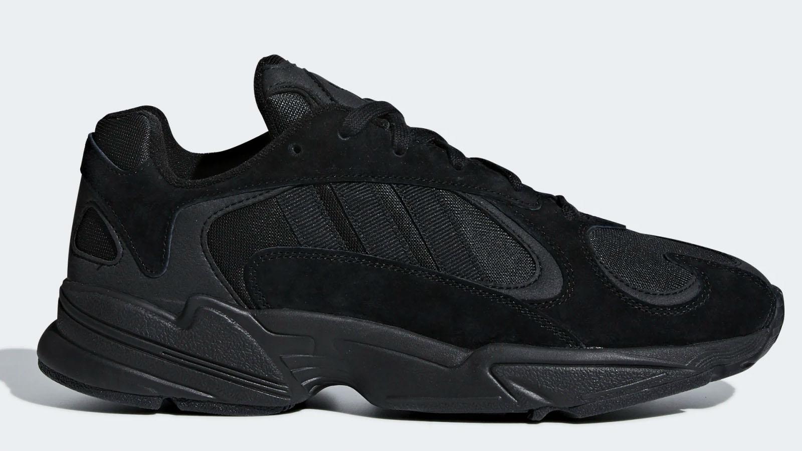 adidas triple black yung 1