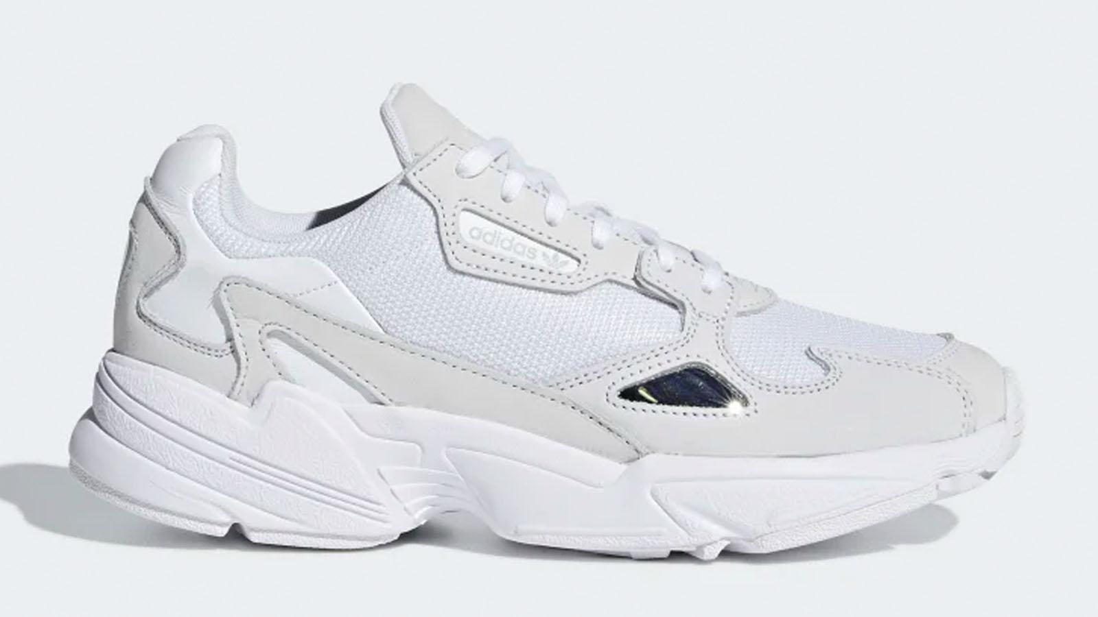 adidas triple white falcon