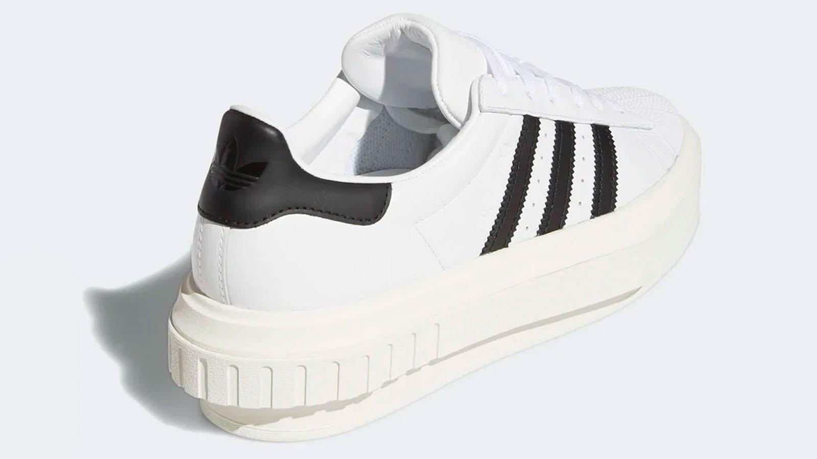 heel shot beyonce adidas superstar