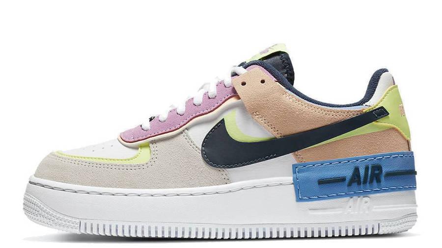 Nike Air Force 1 Shadow Photon Dust Barely Volt Where To Buy Cu8591 001 The Sole Womens Double detailing from the eyelets to the swooshes to the platform height redefines a sneaker inspired by the force of change women bring to their communities. nike air force 1 shadow photon dust