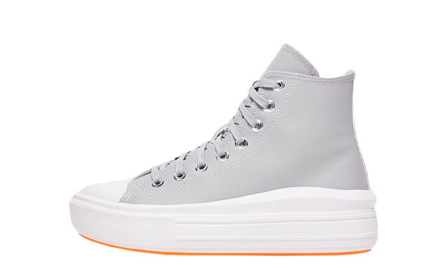Converse Chuck Taylor All Star Move High Top Ash Stone White