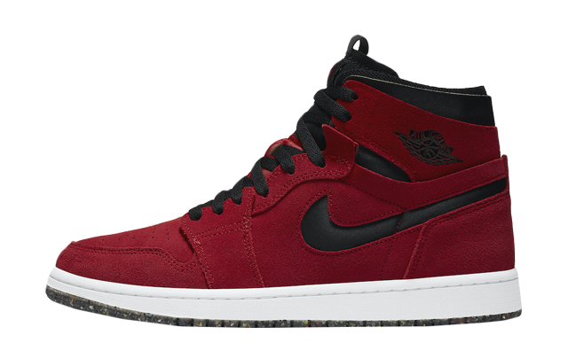 Jordan 1 High Zoom Red Suede