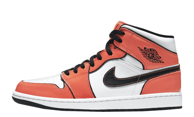Jordan 1 Mid Turf Orange