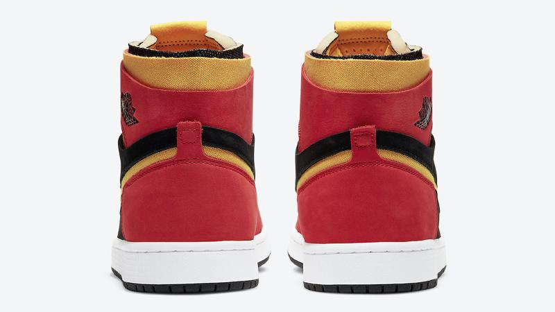Jordan 1 Zoom Comfort Chile Red Back
