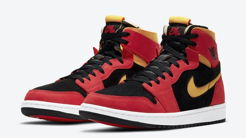 Jordan 1 Zoom Comfort Chile Red Front