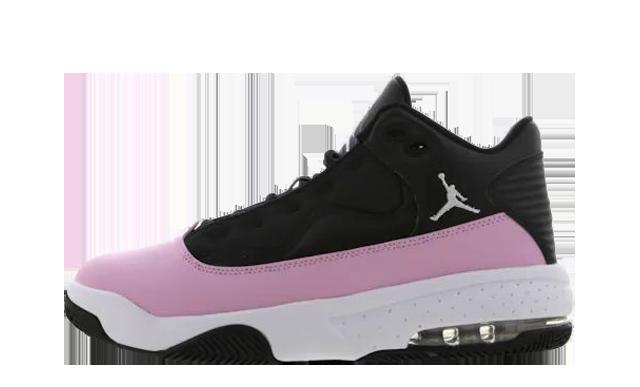 jordan max aura pink and black