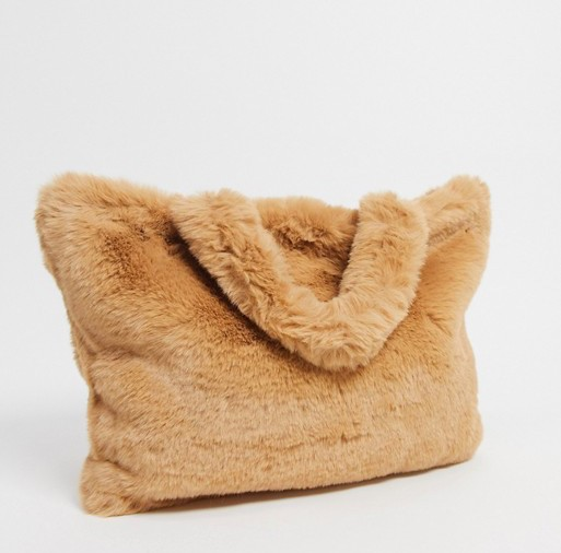 My Accessories Faux Fur Bag